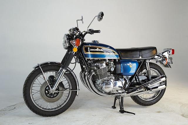 Honda CB 750 1960s Japanese classic motorbike