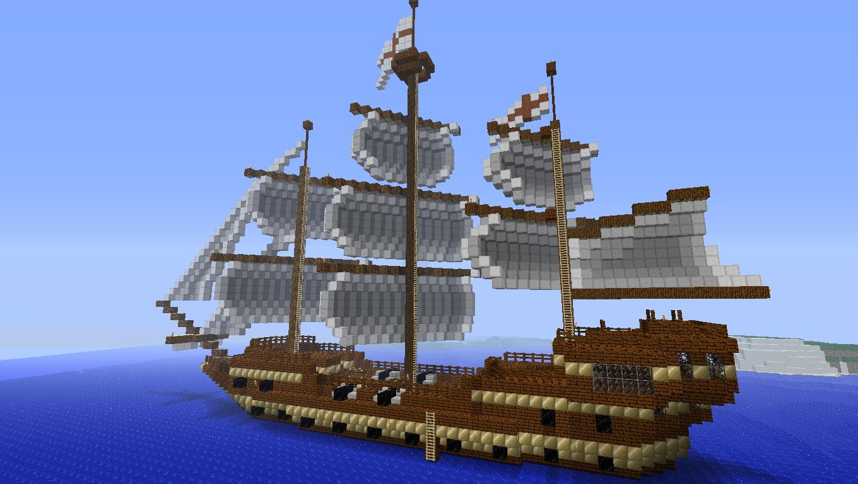Minecraft Ship Building Ideas