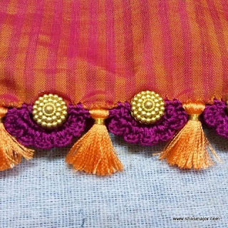 new saree kuchu designs