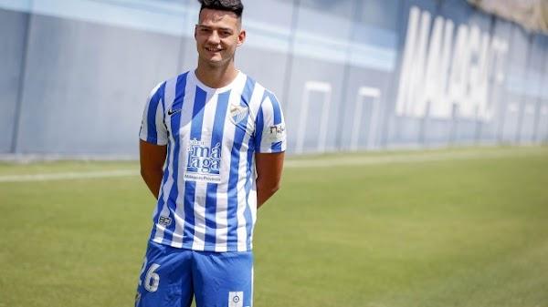 Málaga, Ismael Gutiérrez ya luce la camiseta 2021/2022