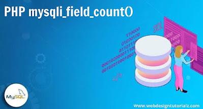 PHP mysqli_field_count() Function