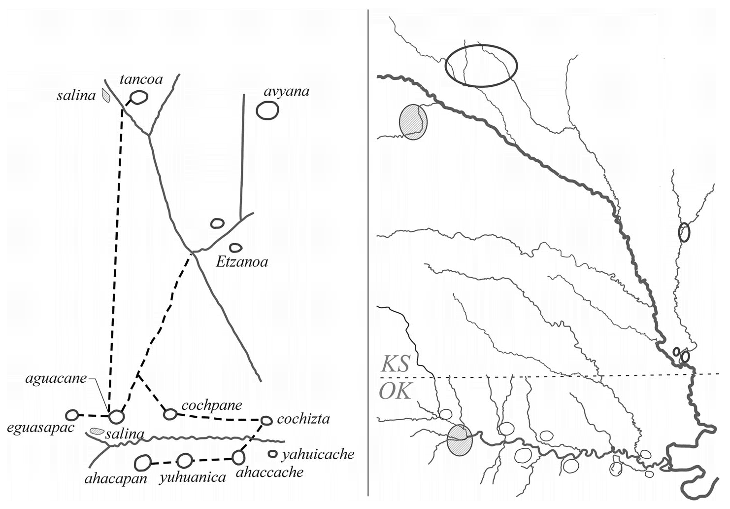 Gesta Septentrionalis: The Tonkawa and Escansaque, In and