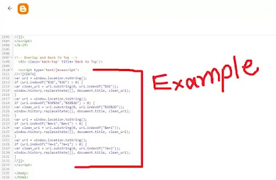 Remove ?m=1 and ?m=0 in The Blogger - seekhlyonline.com