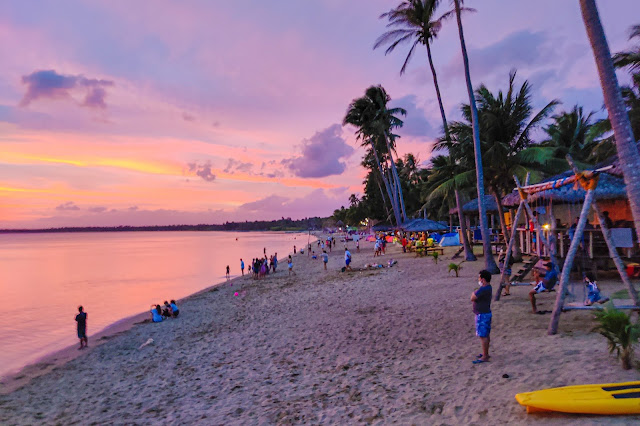 Calilayan Cove at Dusk, Unisan, Quezon Province