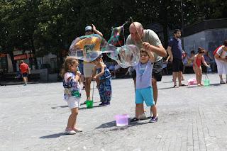Actividades infantiles de las fiestas de Barakaldo