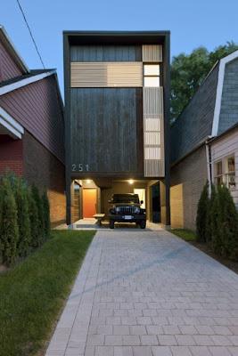 Desain Rumah Sederhana Minimalis di Lahan Sempit