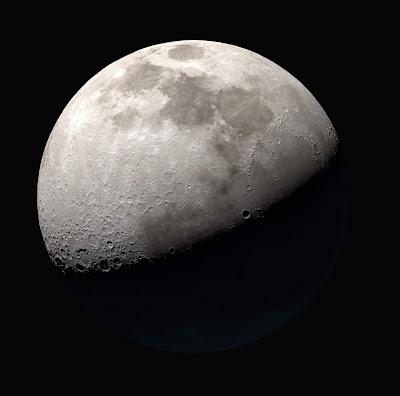 medium resolution Moon image from NASA SVS