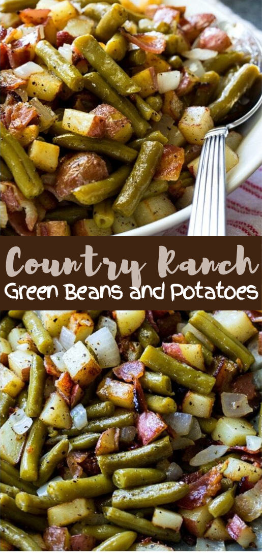 Country Ranch Green Beans and Potatoes #dinnereasy #quickandeasy #dinnerrecipe #lunch #amazingappatizer