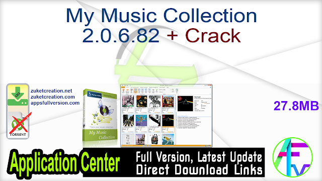 My Music Collection 2.0.6.82 + Crack