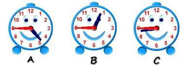 Membaca jam dalam Bahasa Inggris  quarter to