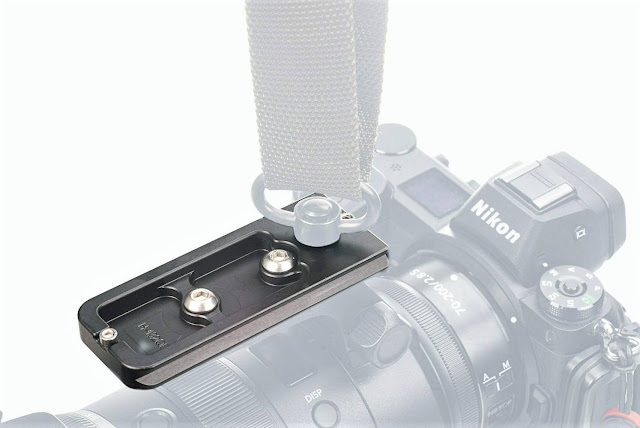 Hejnar H132QD Lens Plate with QD Sling Attached