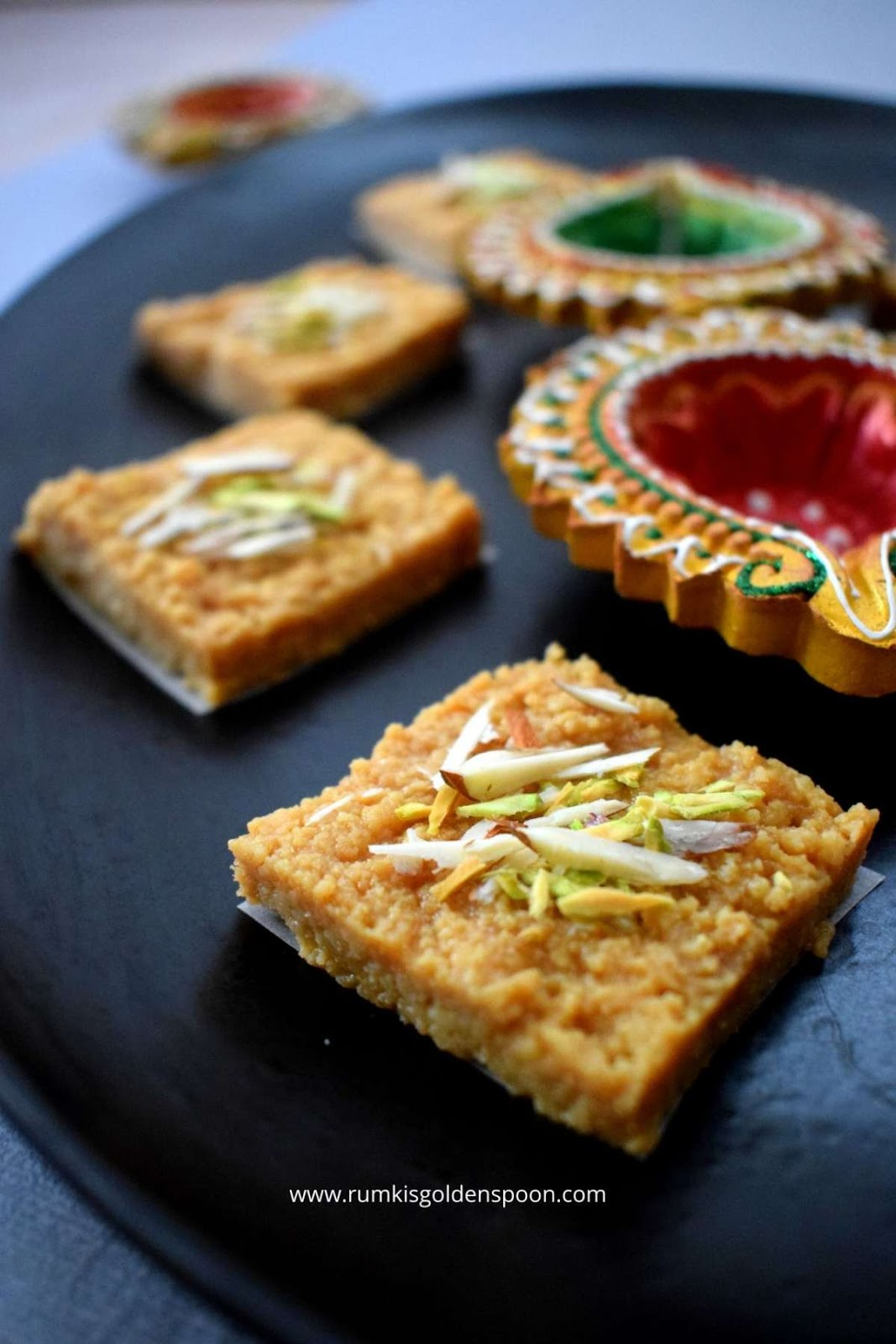 Kalakand, kalakand recipe, recipe for kalakand, how to make kalakand, indian sweet recipe, indian dessert recipes, kalakand mithai, Kalakand barfi, indian milk cake recipe, easy indian dessert recipes for dinner parties, instant indian dessert recipes, indian sweet recipes, indian sweets recipes, indian sweet recipes for Diwali, jaggery sweet recipes, sweet recipes with jaggery, patali gur recipes, jaggery sweet, sweets with jaggery, date palm jaggery recipes, nolen gur sweets, khajur gur recipes, winter sweet recipe, Gur Kalakand, jaggery Kalakand, Rumki's Golden Spoon