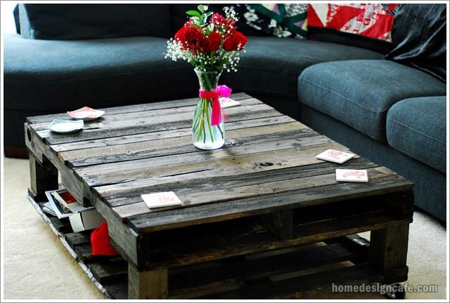 DIY Wood Table Home Decor