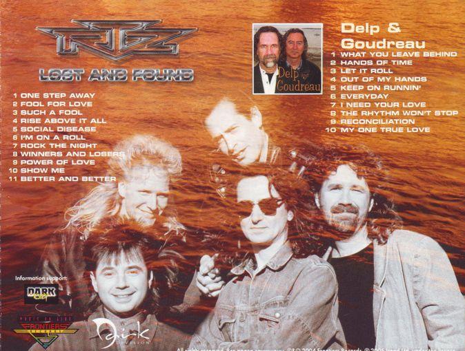 RTZ (Return To Zero) - Lost And Found + Delp Goudreau (2004) back
