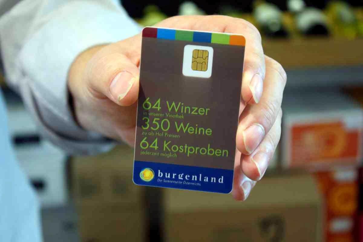 Hier wird die Weinprobe über eine Chipkarte gesteuert © Copyright Monika Fuchs, TravelWorldOnline