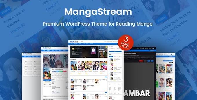 MangaStream For Manga Reader WordPress Theme