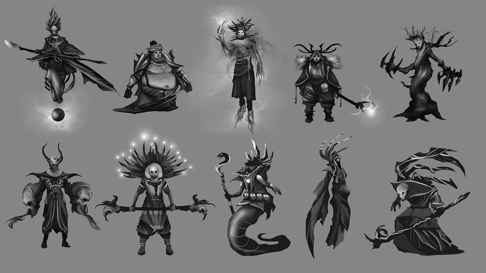 "[Horante] "" Mecha-shaman reloaded "" - Page 2 NicolasCamiade_Assignment01_Fantasy_DarkMage"
