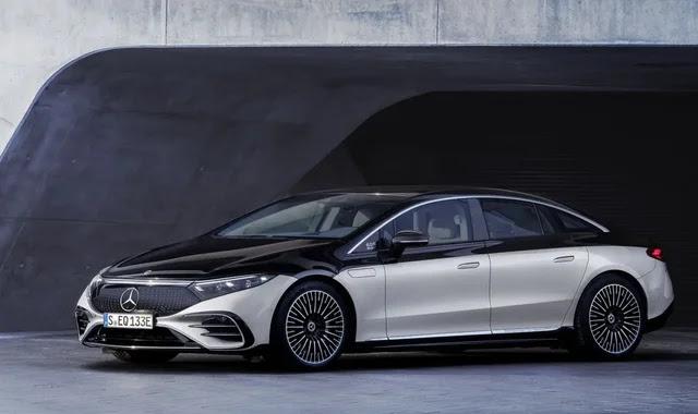 Mercedes unveils the luxury electric vehicle EQS