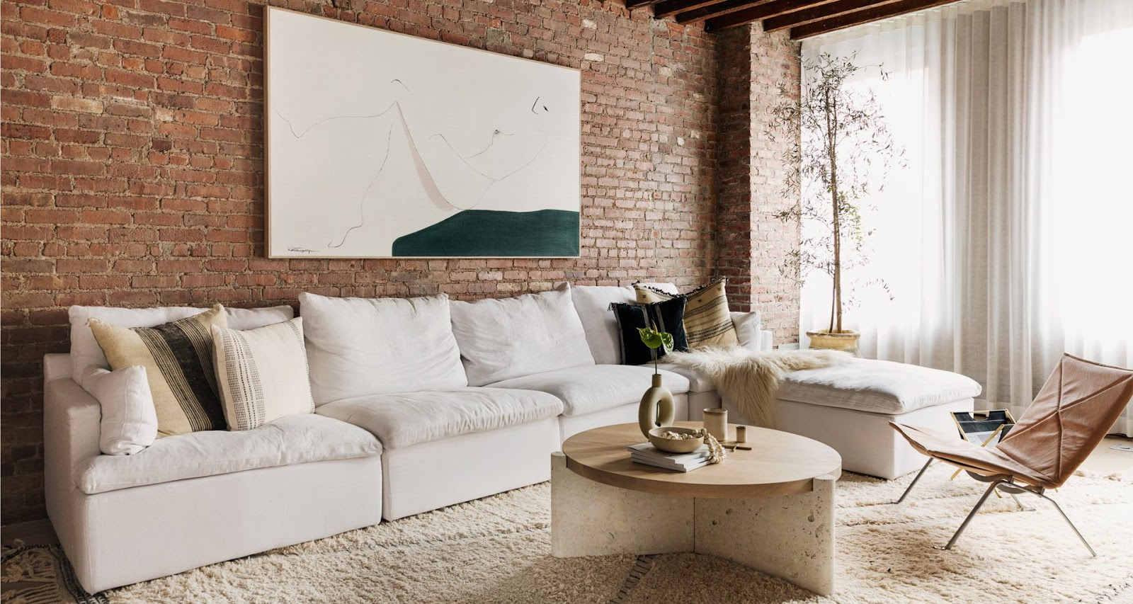 A New York loft by interior designer Tina Rich