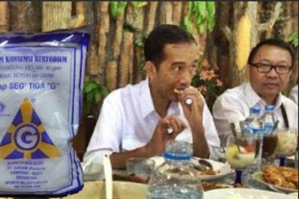 Baru di Era Jokowi, Masakan Kurang Garam