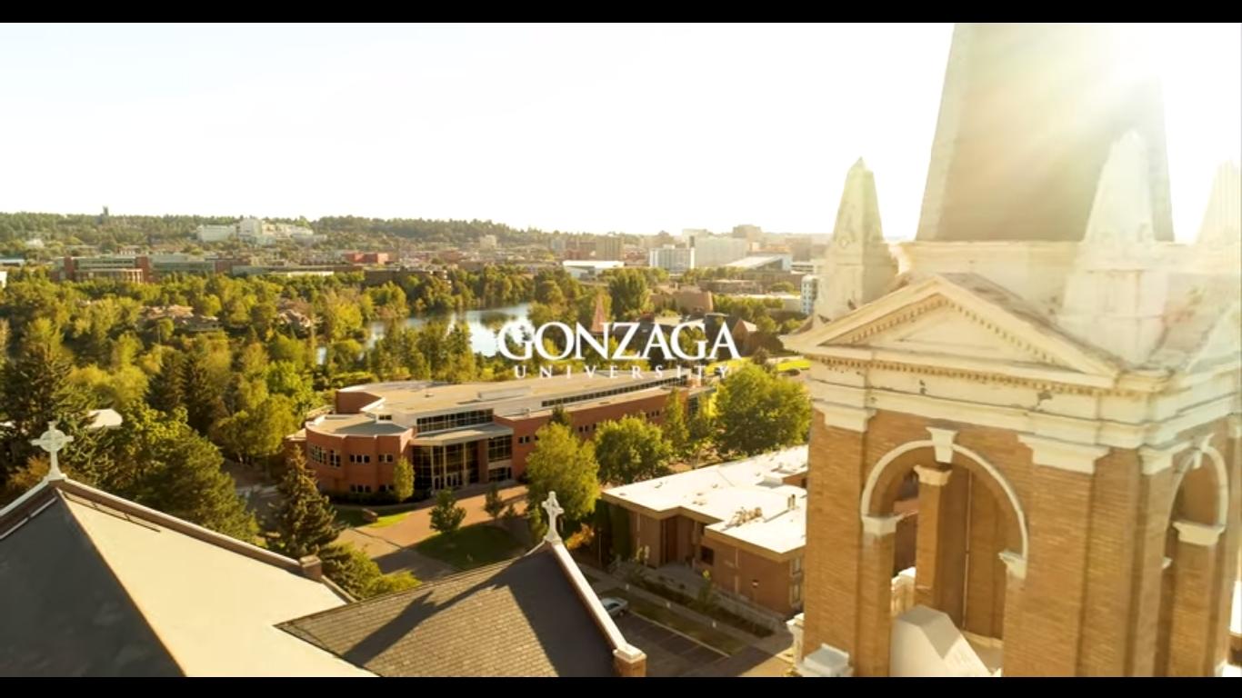 Gonzaga University President Thayne McCulloh asks students to celebrate safely
