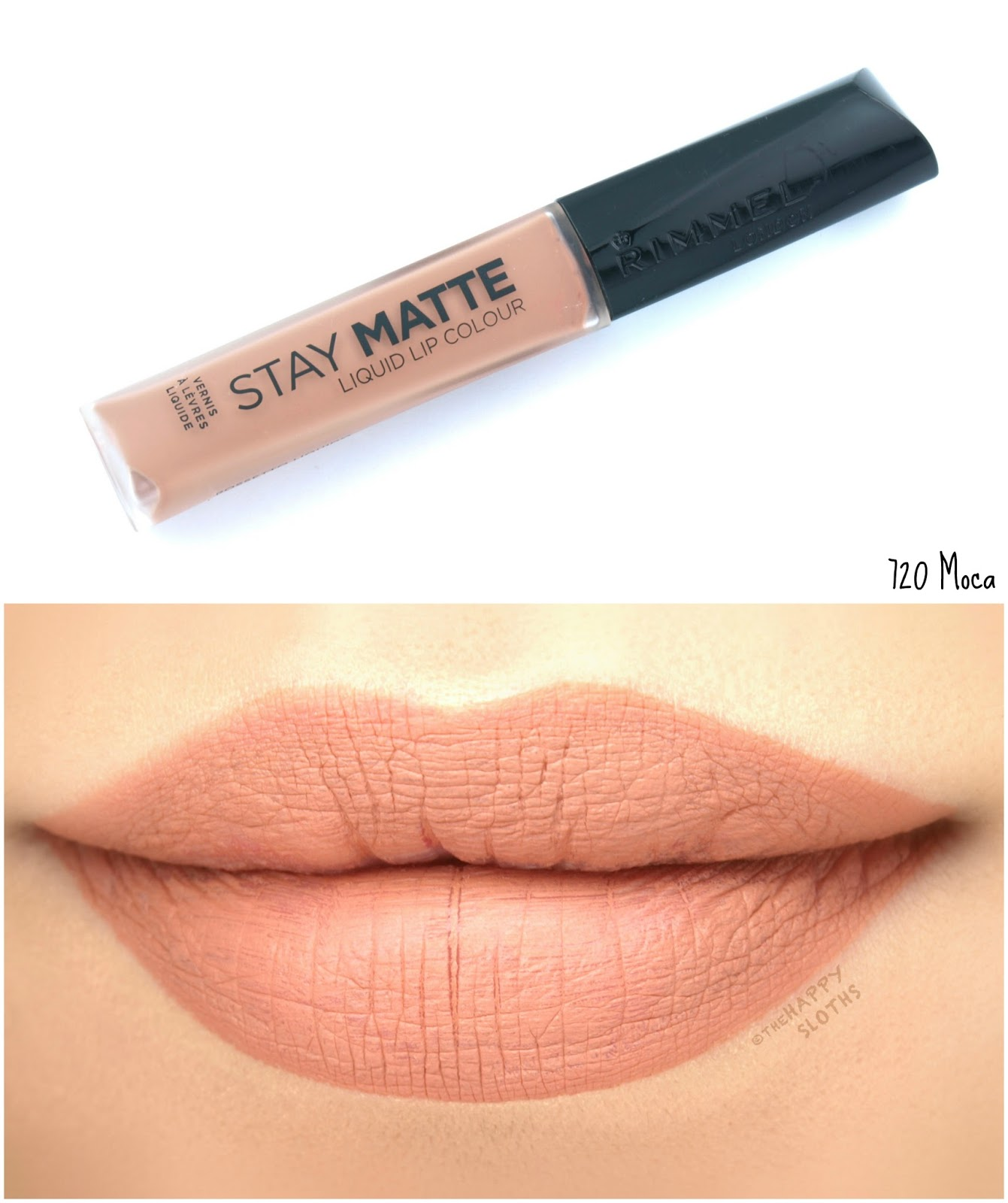 Rimmel London Stay Matte Liquid Lip Colour | 720 Moca: Review and Swatches
