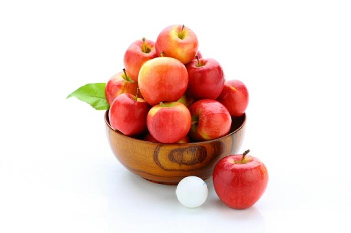 한 번에 먹기 좋은 소형 과일 소비 증가, 국산 사과 소개