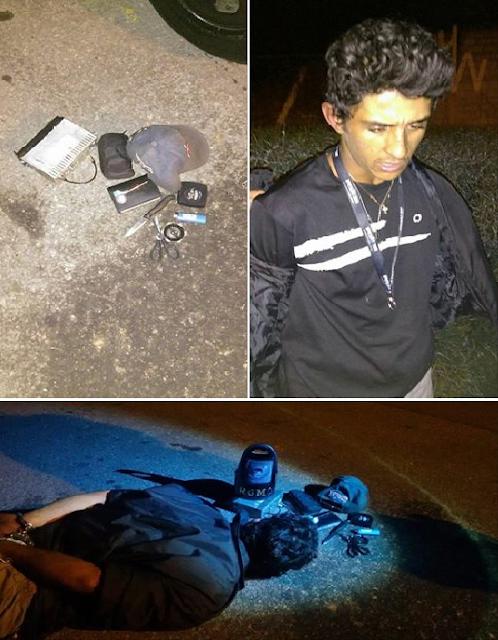 SANTO ANDRÉ - ROMO detém elemento no momento em que praticava furto no Camilópolis