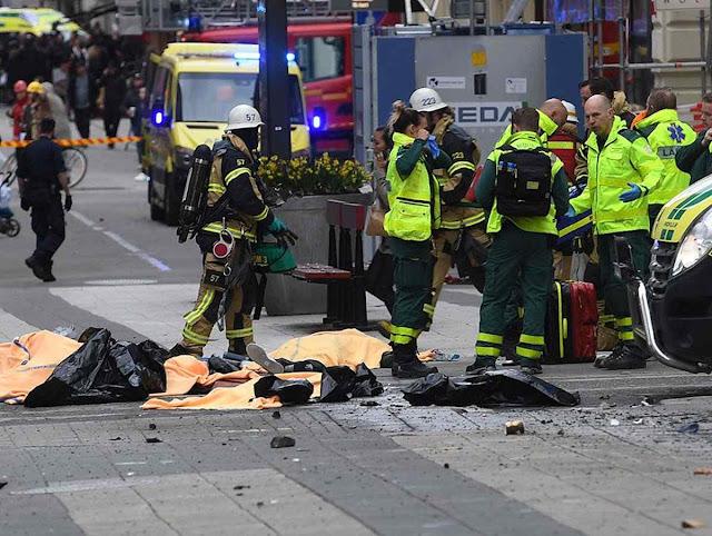 Ataque terrorista em Estocolmo