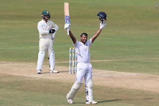 Mayank Agarwal 215 vs South Africa Highlights