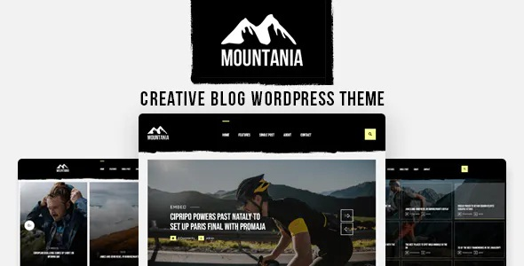 Best Creative Blog WordPress Theme
