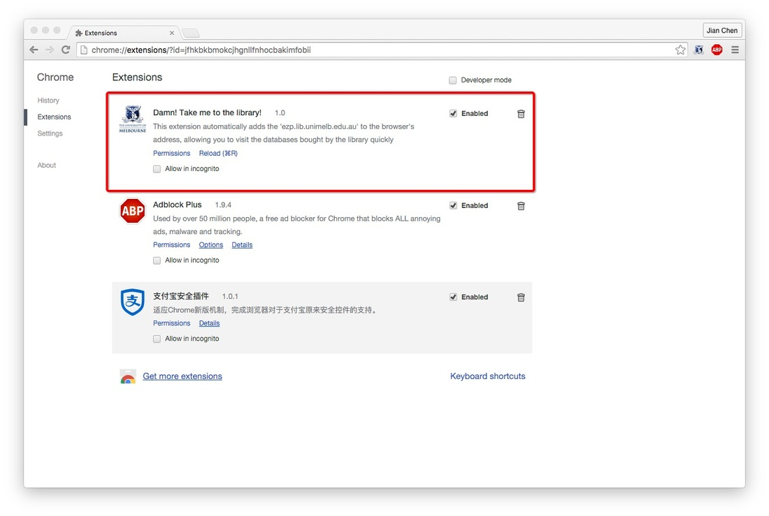 Google Chrome Update With Your Extension Buttons Hidden In