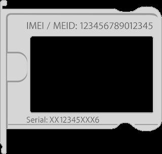 ما هو meid في iPhone. كيف تتعلم IMEI (الرقم التسلسلي) iPhone