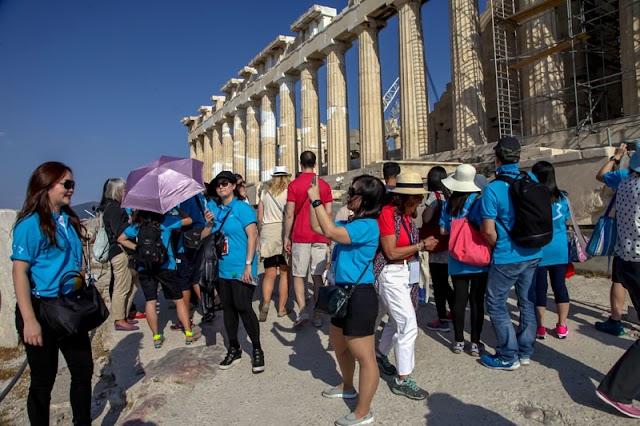 Το 2021 ο στόχος για 500.000 Κινέζους τουρίστες στην Ελλάδα