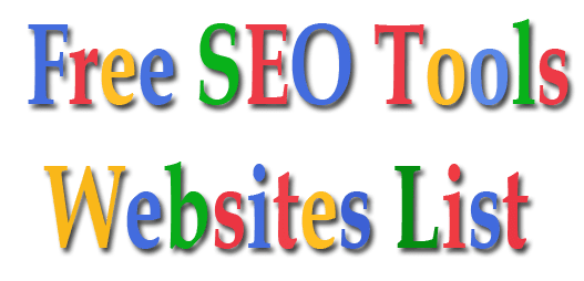 There are many SEO Tools to banking concern check your site functioning Top Free On-Page together with Off-Page Optimization SEO Tools