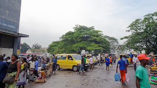 Christmas shopping in DRC