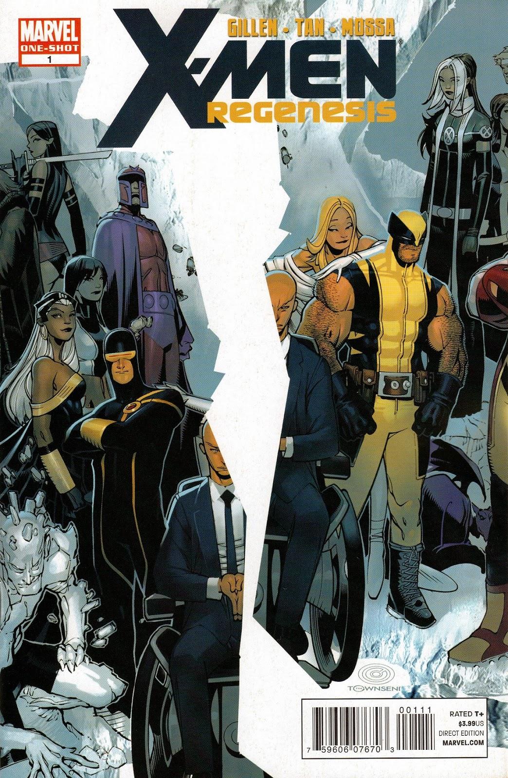 Portada de X-Men Regenesis Descargar Español Mega