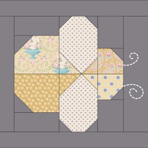 Bee Block Quilt Pattern