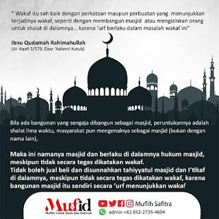 Jual Beli, Tahiyyatul Masjid, dan I'tikaf