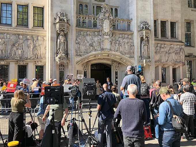 """UK: Supreme court rules that """"Proroguing"""" was illegal"""