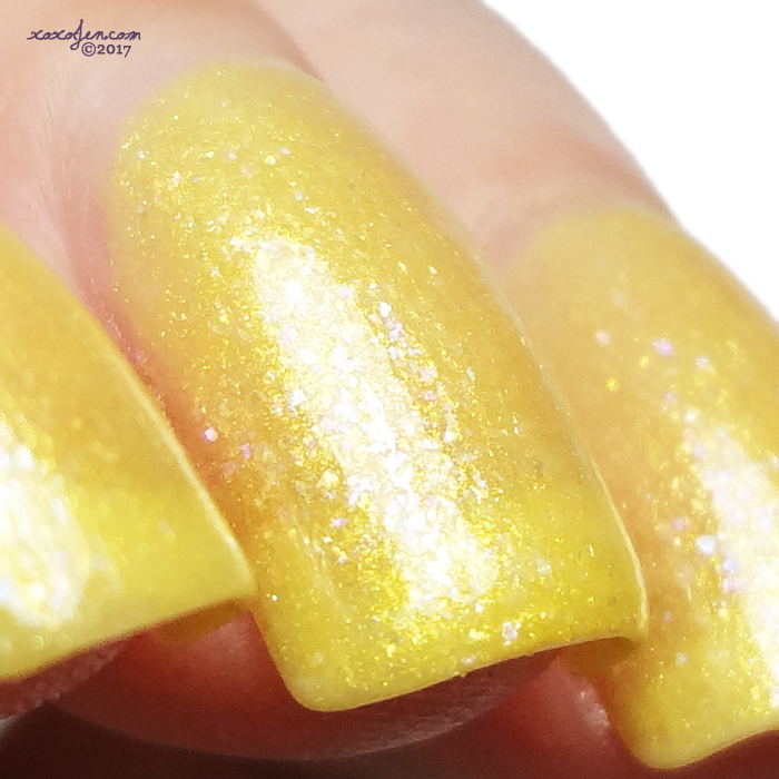xoxoJen's swatch of Polish My Life Golden Sunsets