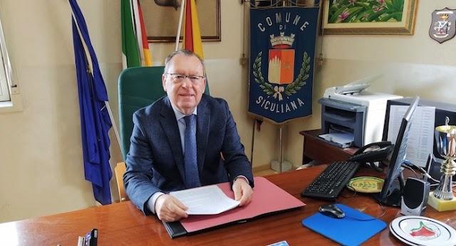 Il Sindaco: attualmente il paziente positivo al covid-19 ricoverato a Palermo