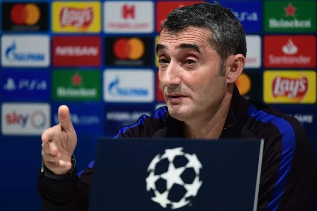 Ernesto Valverde talks Lionel Messi, Lautaro Martinez and Arthur ahead of Inter Milan