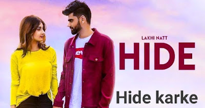 Hide karke Punjabi song by Lakhi Natt lyrics