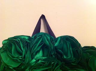 yeşil güllü ayna ev dekorasyon