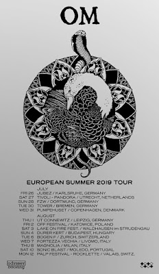 OM European Summer tour 2019 poster