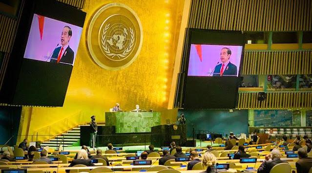 Pidato Sidang Umum PBB, Jokowi Singgung Praktik Kekerasan dan Marginalisasi Perempuan di Afghanistan