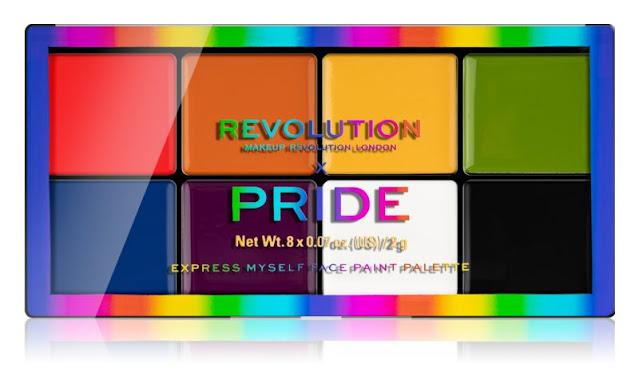 Paletas colores Revolution