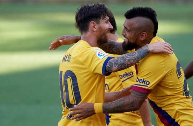 """Video Alaves - Barcelona: Messi """"trút giận"""", đại thắng hủy diệt"""