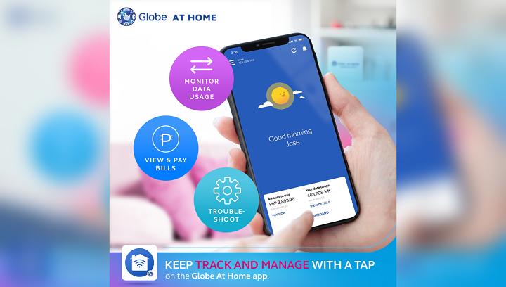 Globe at Home App